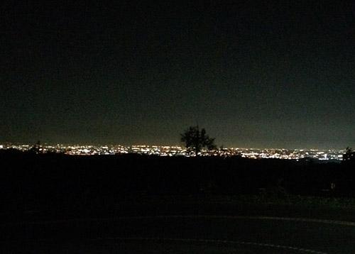 根引峠からの夜景